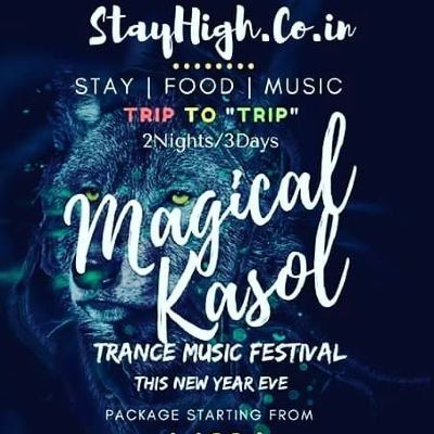 Magical Kasol New Year Eve Celebration(Music Festival)