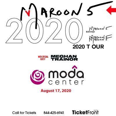 Maroon 5 & Meghan Trainor at Moda Center at the Rose Quarter Portland OR