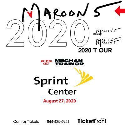 Maroon 5 & Meghan Trainor at Sprint Center Kansas City MO