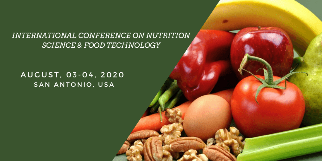 Nutrition Science & Food Technology Conference  ICNSFT-2020
