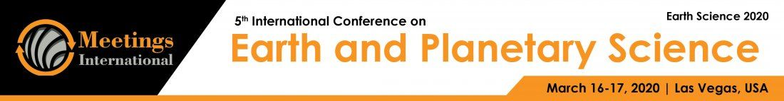5th International conference on Earth & Planetary science