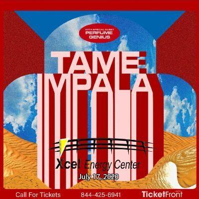 Tame Impala at Xcel Energy Center Saint Paul MN