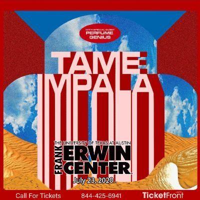 Tame Impala at Frank Erwin Center Austin TX