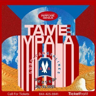Tame Impala at American Airlines Center Dallas TX