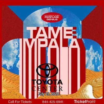 Tame Impala at Toyota Center - TX Houston TX