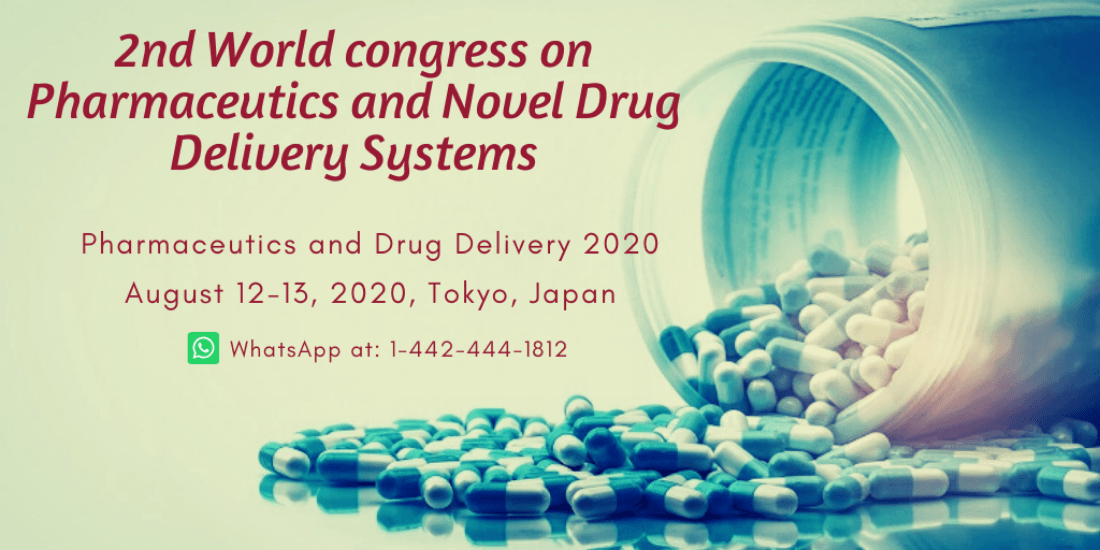 2nd World congress on Pharmaceutics and Novel Drug Delivery Systems