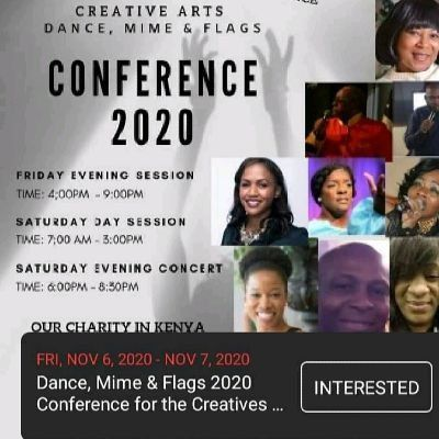 2 Days Dance mime and Flags ConferenceConcert 2020