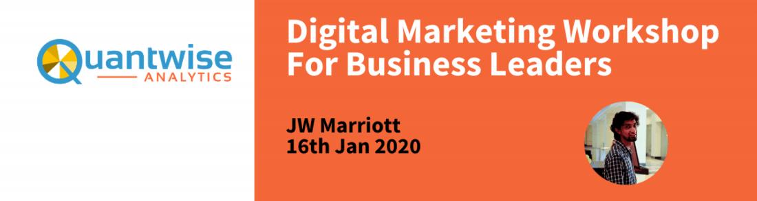 Digital Marketing Workshop in Kolkata for Business Leaders