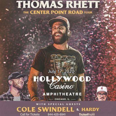 Thomas Rhett & Cole Swindell at Hollywood Casino Amphitheatre - MO Maryland Heights MO