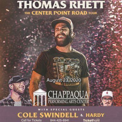 Thomas Rhett & Cole Swindell at Chappaqua Performing Arts Center Chappaqua NY