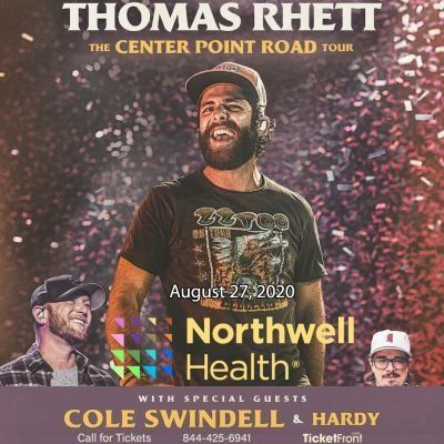Thomas Rhett & Cole Swindell at Northwell Health at Jones Beach Theater Wantagh NY