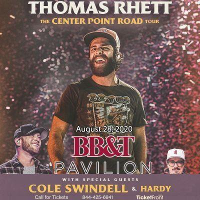 Thomas Rhett & Cole Swindell at BB&ampT Pavilion Camden NJ