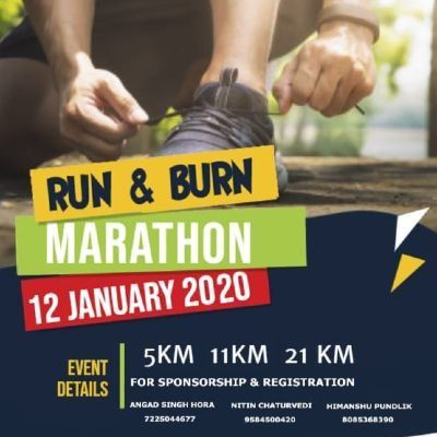 Run & Burn Marathon 2020 Indore (Sold Out)