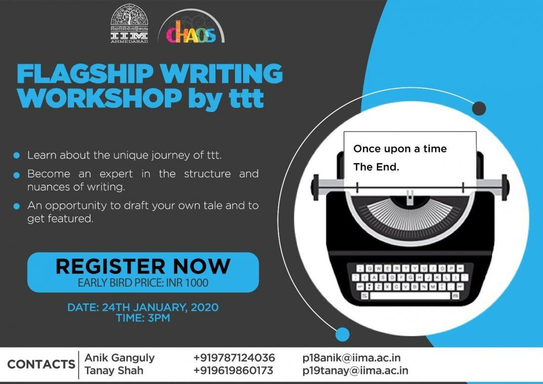 Flagship Writing Workshop by Terribly Tiny Tales