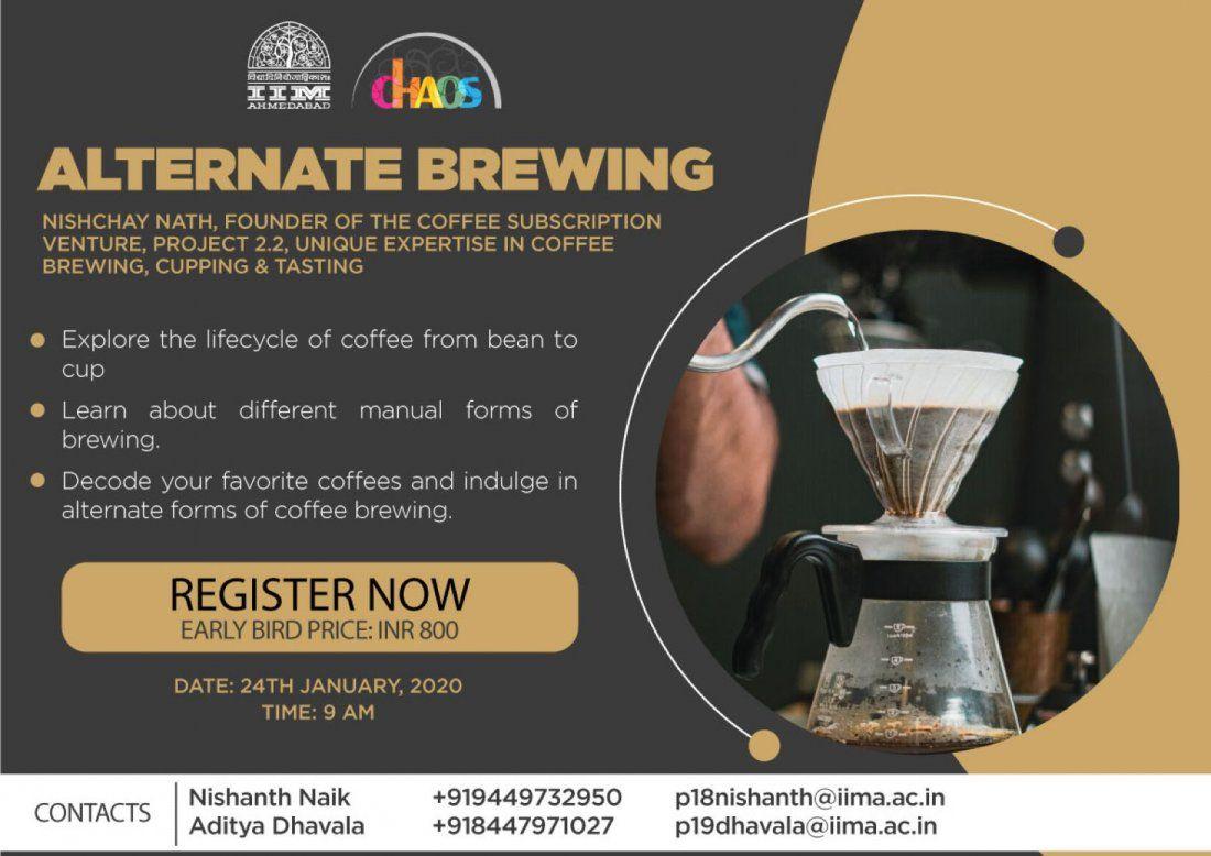 Alternate Brewing by Nishchay Nath