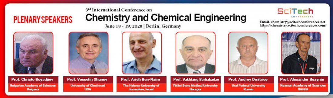 3rd International Conference on Chemistry and Chemical Engineering