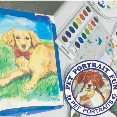 Sip and Paint Pet Portrait Fun at Cafe Bark NYC