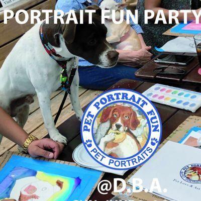 Paint and Sip Pet Portrait Fun- Sunday Funday - D.B.A East Village