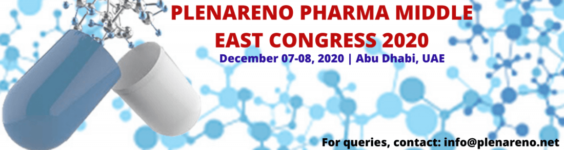 PLENARENO PHARMA MIDDLE EAST CONGRESS 2020, 7 December | Event in Abu Dhabi | AllEvents.in