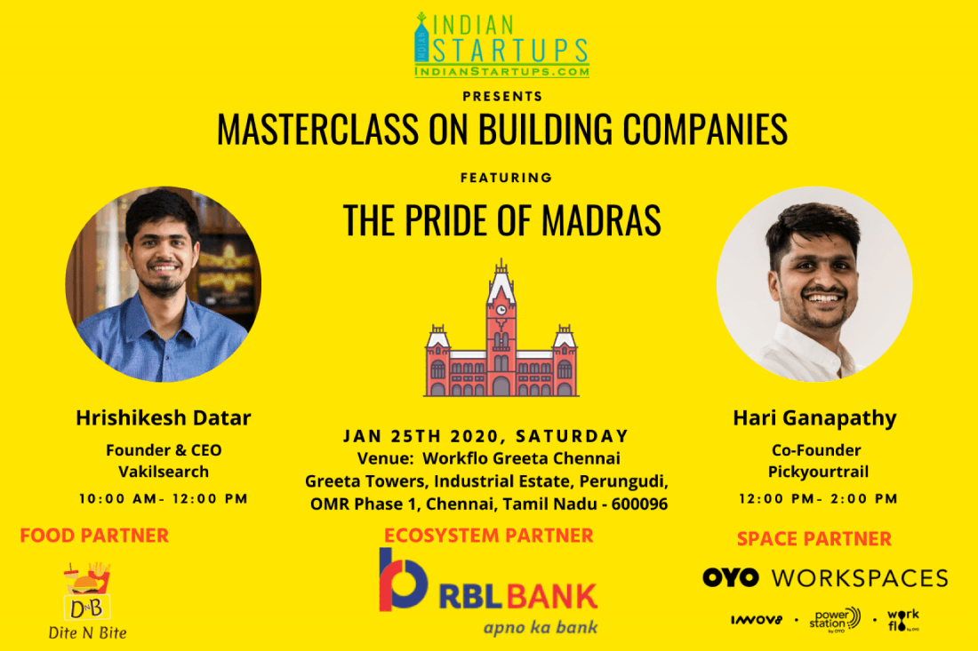 The Masterclass on Building Companies
