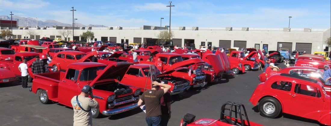 Lugnuts Red Car Show