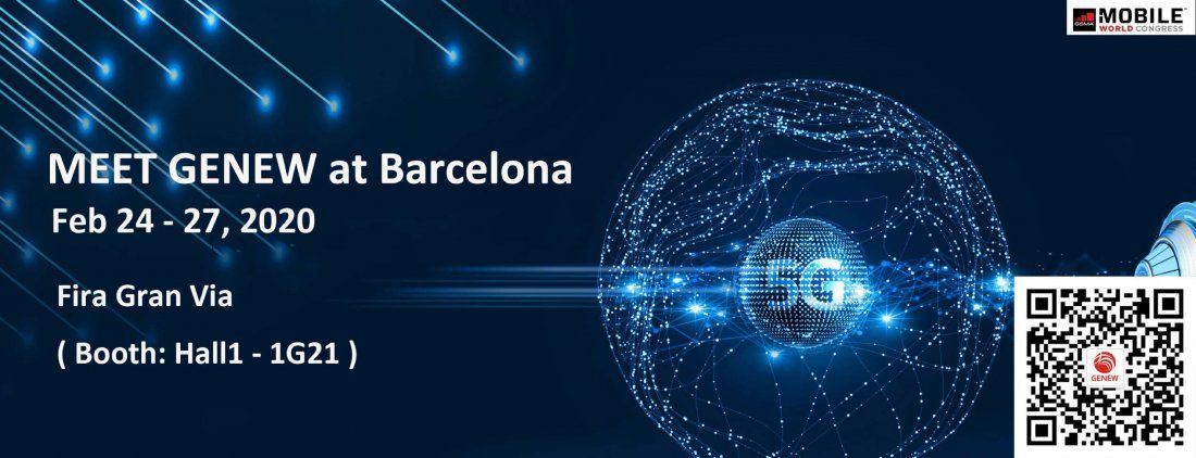 Genew at 2020 MWC Barcelona