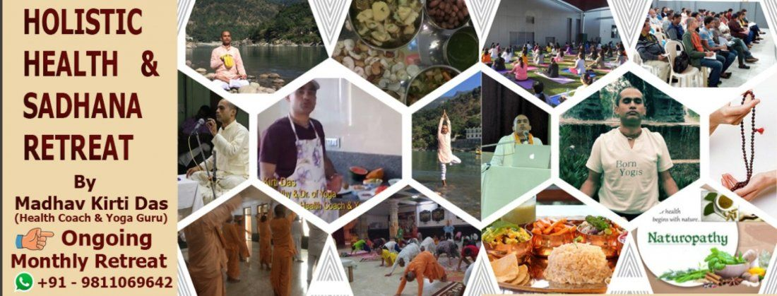 Vrindavan- Health Retreat, Detox, Education & Sadhana Retreat max 20 Participants Only, 21 August | AllEvents.in