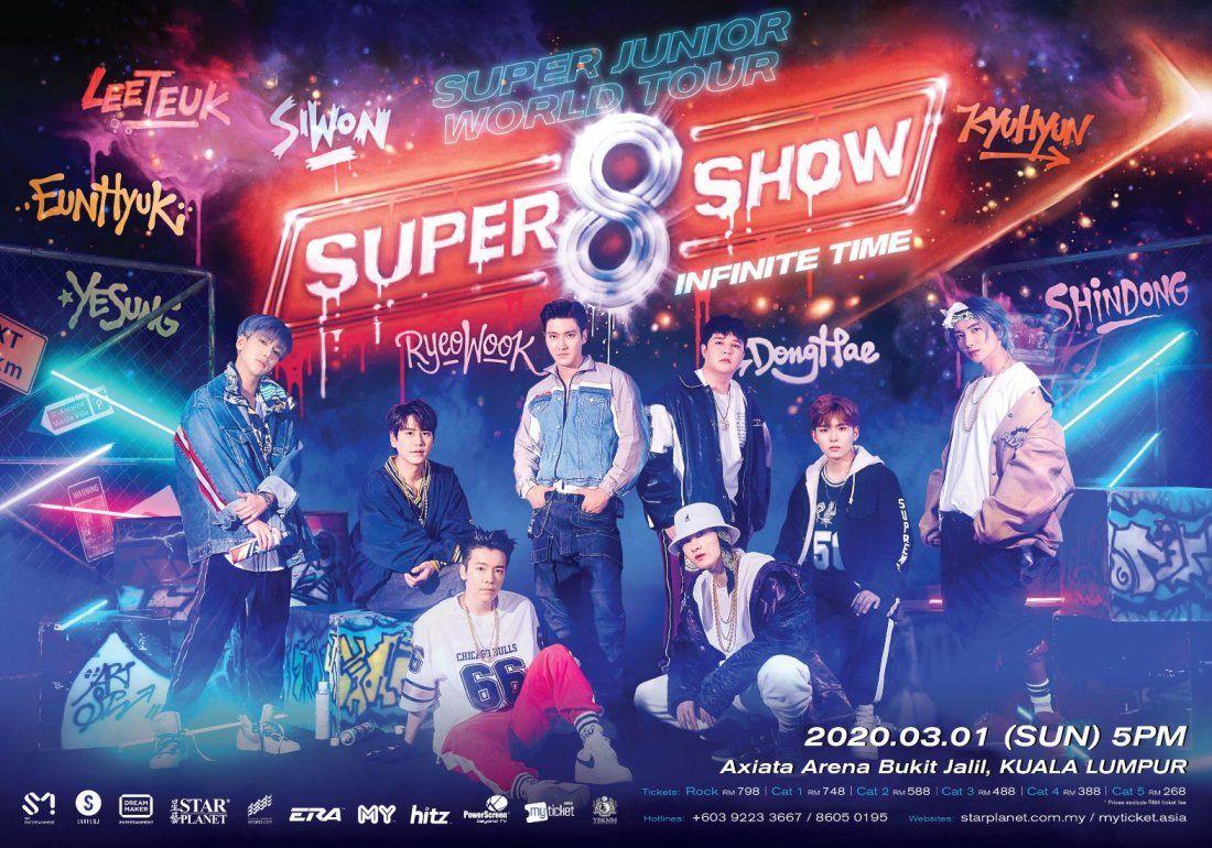 SUPER SHOW 8 in Kuala Lumpur