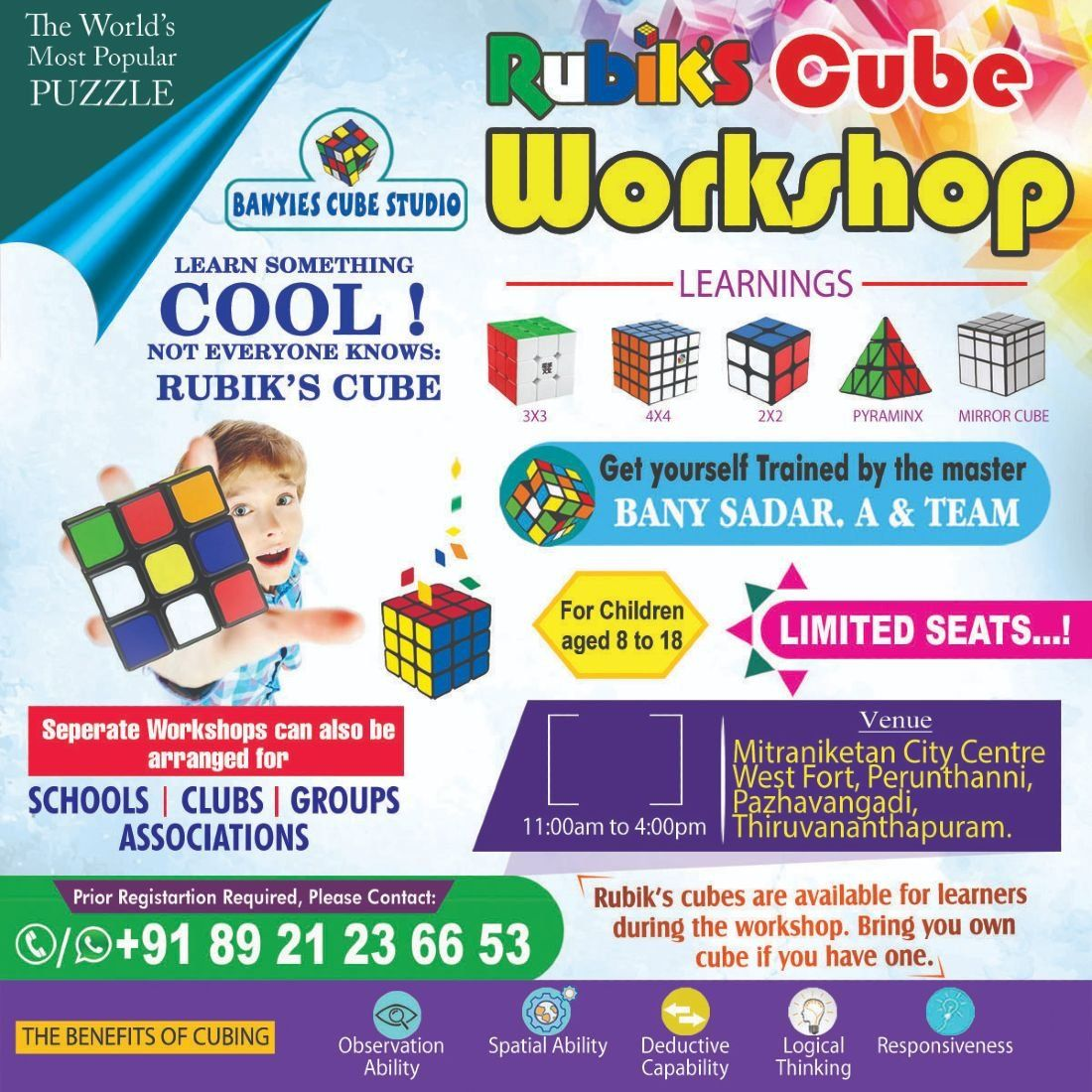 Rubiks cube workshop