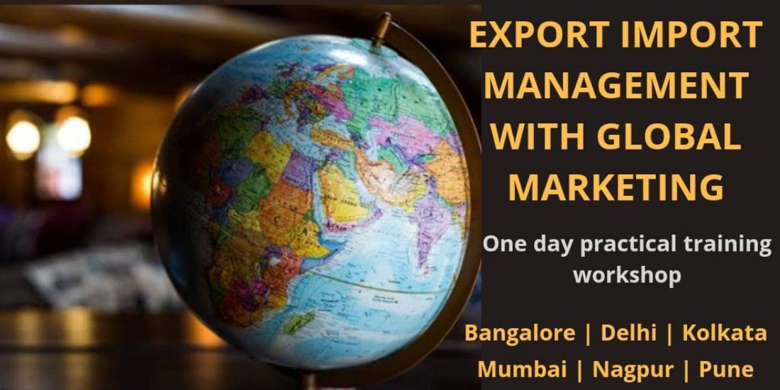 Export Import Business Training Workshop in Pune