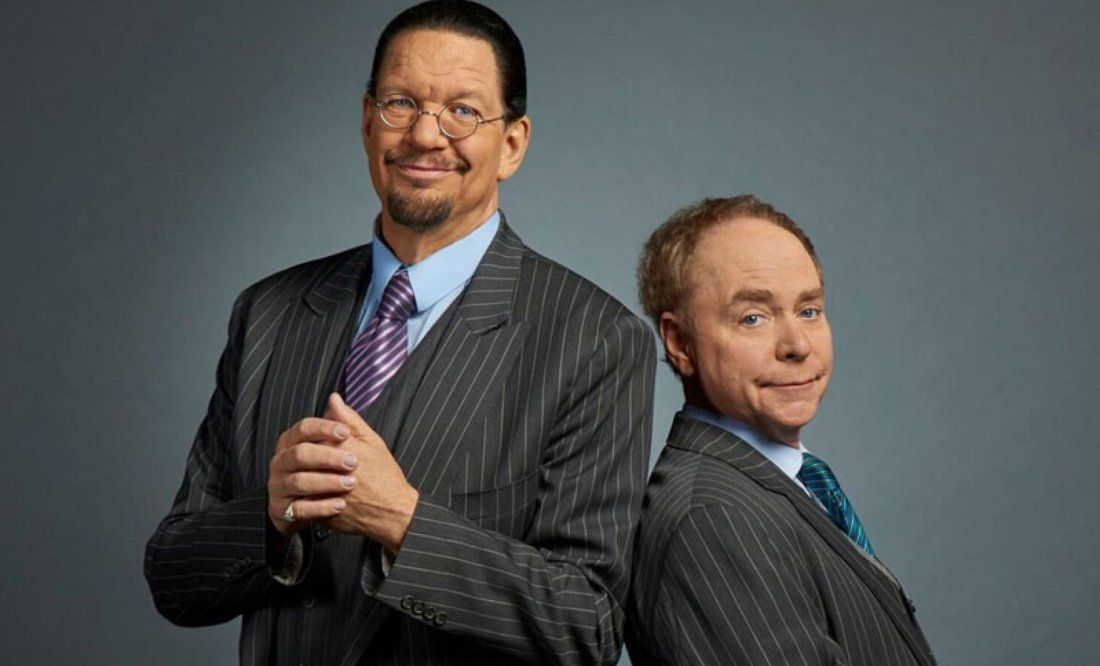Penn and Teller Magic Show 299 per copule (stay included) Vegas