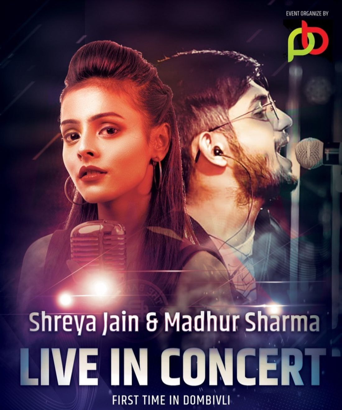 Shreya Jain and Madhur Sharma live in concert Dombivli