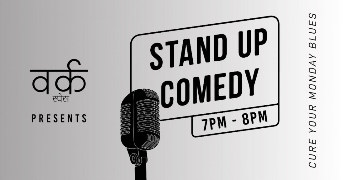 Standup Comedy at Vorq Space