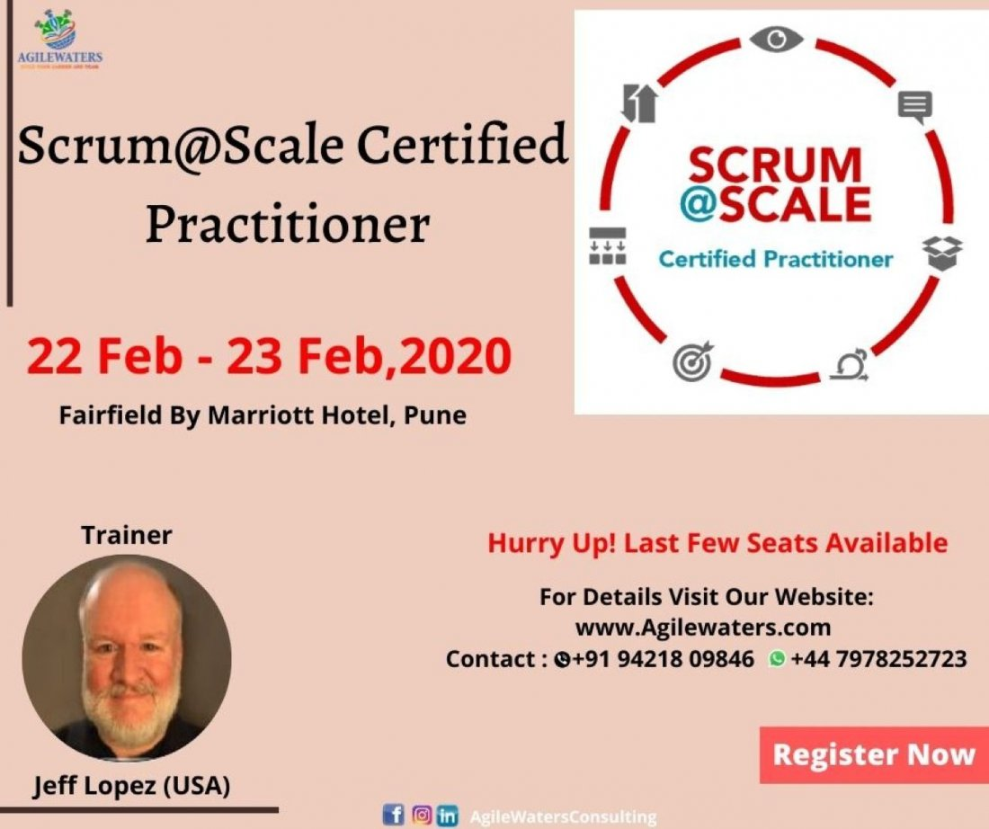 Certified ScrumScale Practitioner 22-23 Feb 2020
