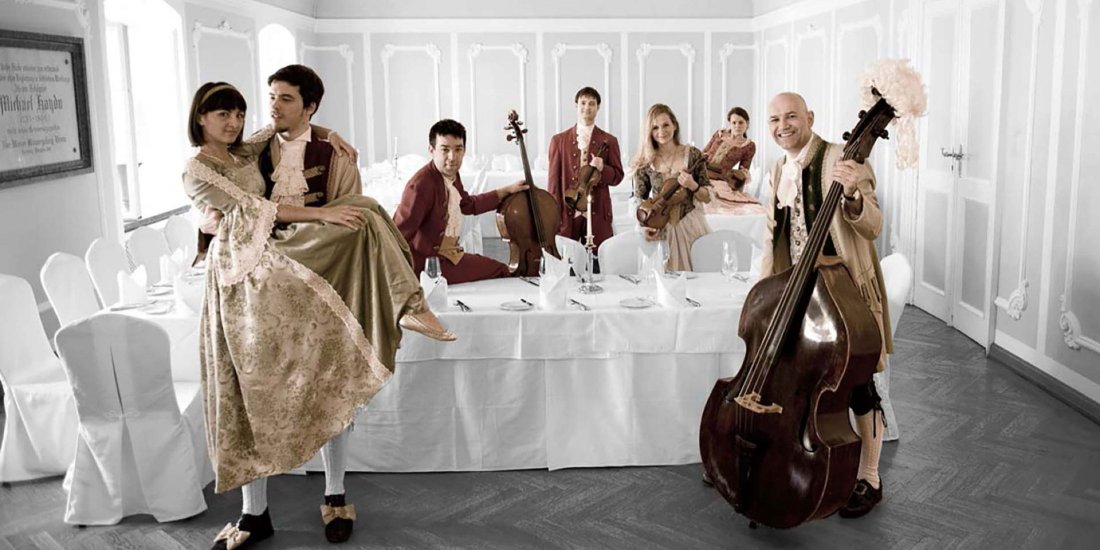 Mozart Dinner Concert at St. Peter Baroque Hall