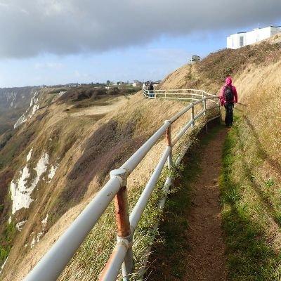 Dover and a Sea walk to Folkestone - Saturday