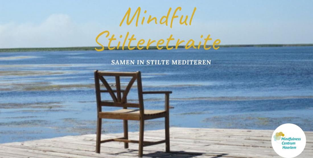 AFGELAST  Mini-Stilteretraite  zo. 5 april 9.00h-13.00h Haarlem
