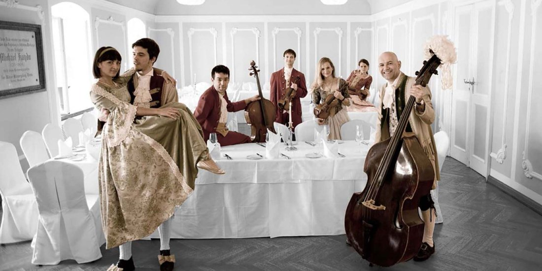 Mozart Dinner Concert at St. Peter Baroque Hall