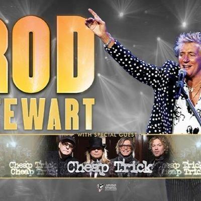 Rod Stewart & Cheap Trick 299 for 2 tickets & 3 nights. Florida