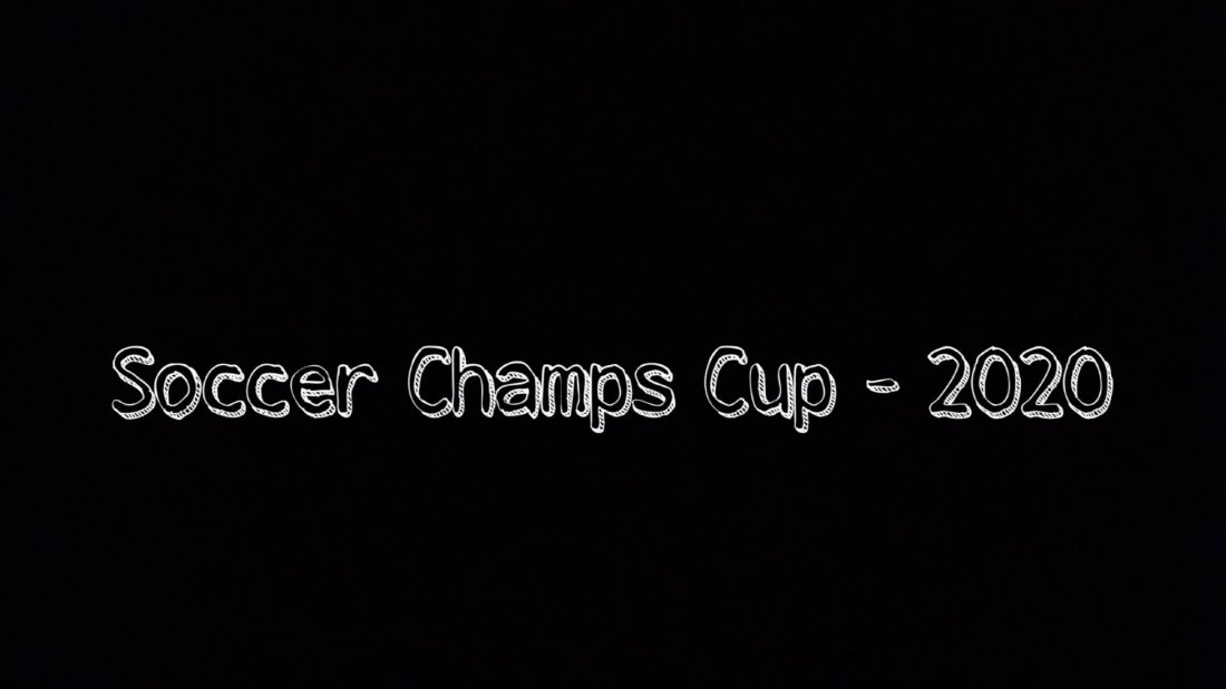 Soccer Champs Cup - 2020