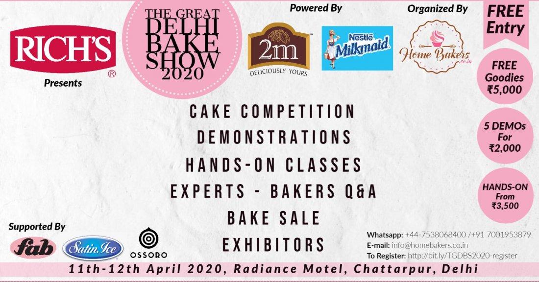 The Great Delhi Bake Show 2020