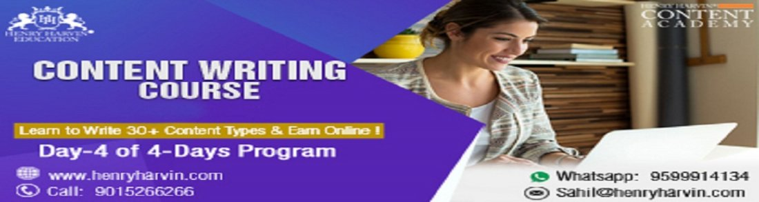 Day- 4 Content Writing Course in Noida