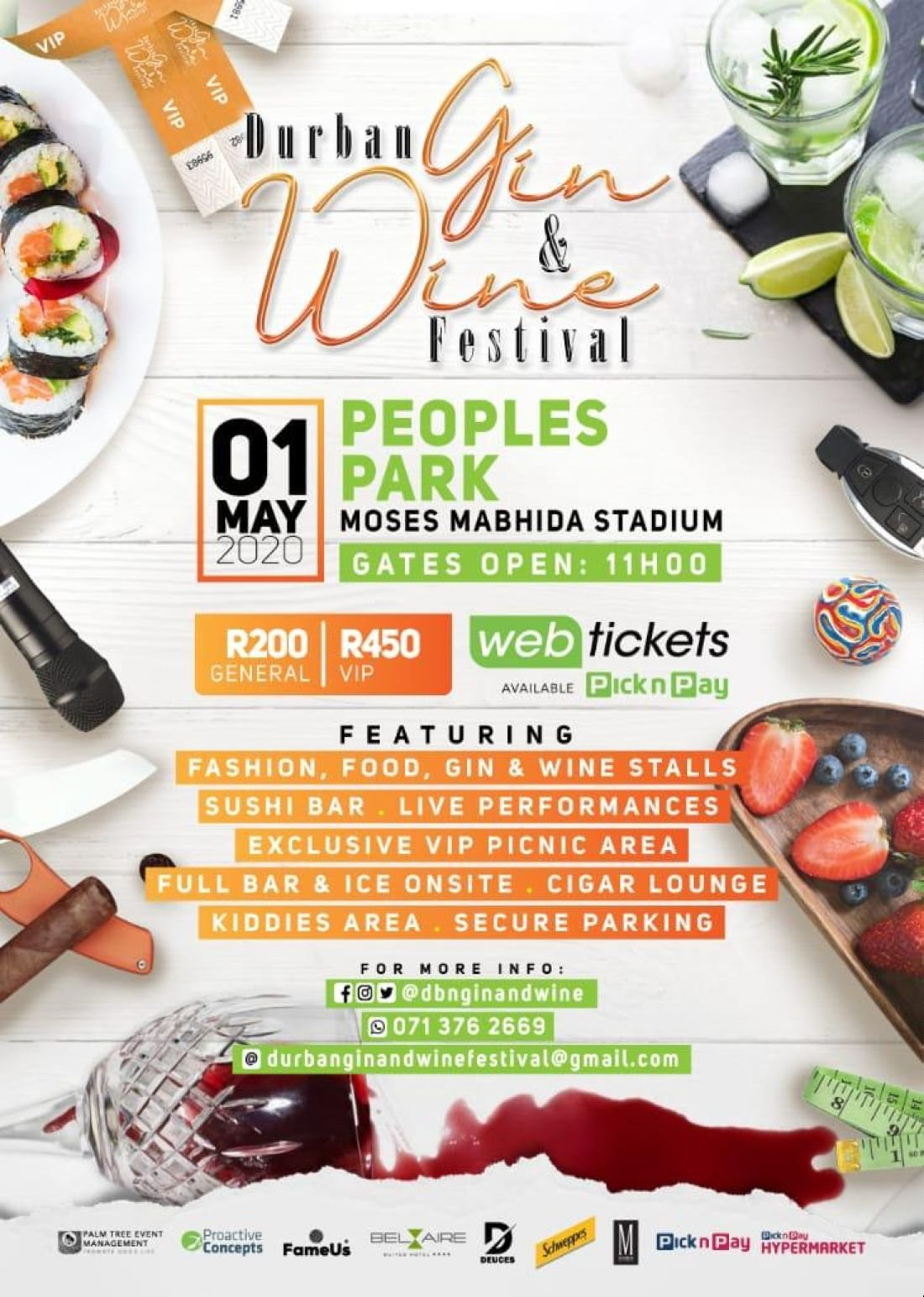 Durban Gin And Wine Festival