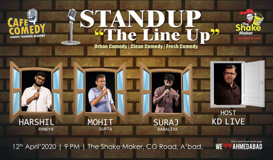 POSTPONED  Standup - The Line Up