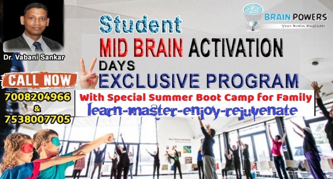 Mid Brain Activation Summer Camp