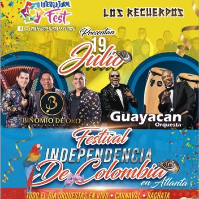 Festival Independencia de Colombia En Atlanta
