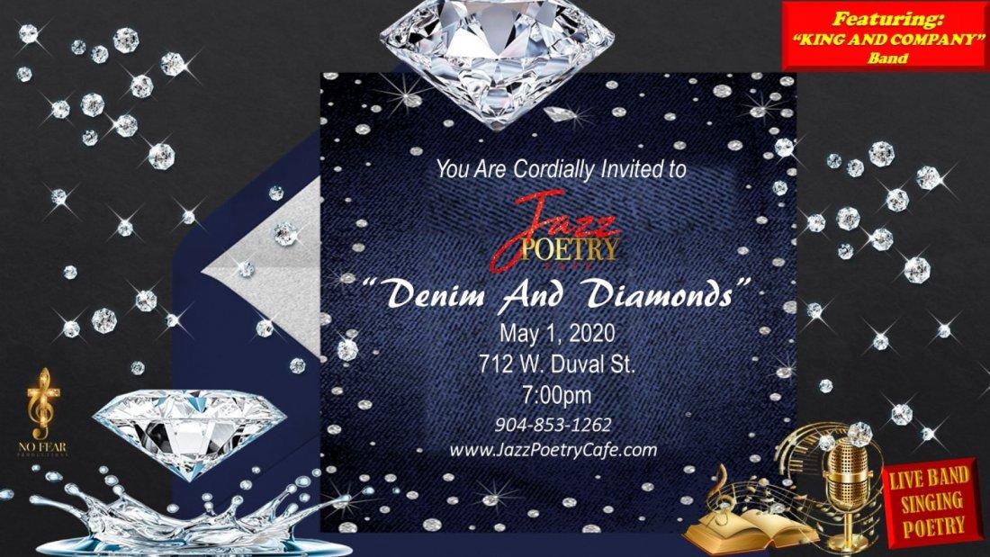 Jazz Poetry Cafe  Denim and Diamonds