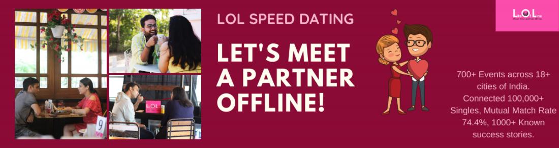 LOL Speed Dating Gurgaon - July 4