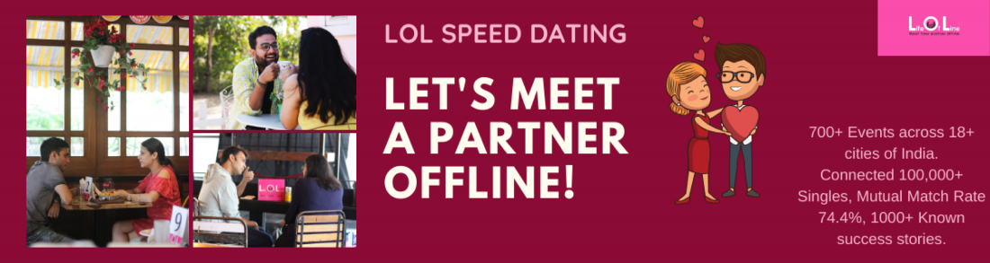 LOL Speed Dating Pune - July 12