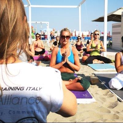 100 Hour Yoga Teacher Training in Italy (Beach)
